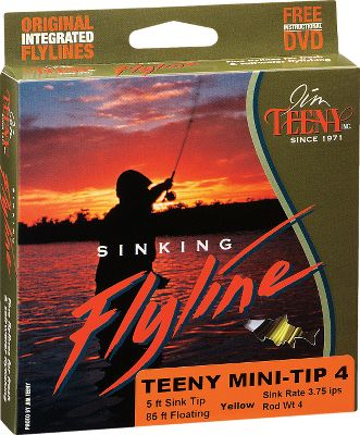 Flyfishing The Weight-Forward Mini-Tip is a very versatile line with a 5-foot mini sink tip made in line weights from 3 to 10. This line will deliver your fly to a 2- to 4-foot depth and is a great alternative to using weighted flies or shot. Perfect for subsurface fishing, shallow runs, shorelines, submerged weedbeds. Very popular when fishing shallow saltwater as well. Color: Yellow/Black. Size: 4WT. Color: Yellow. Type: Sink Tip Freshwater. - $43.88