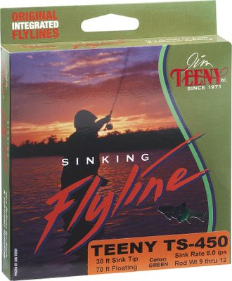 Flyfishing The TS-Series is designed to allow you to cast farther with greater accuracy. This line features a 30-foot sinking section and 70-foot of running/low profile floating line. The perfect fly line when you have to cast 70-foot or more or when the wind makes casting extremely difficult. Size: TS350. - $18.88