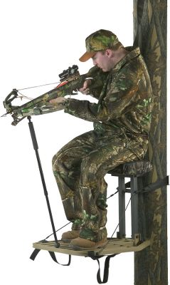 Hunting TenPoint has a complete line of crossbows. This telescoping, two-section monopod steadies your aim. Its made of hard-tempered alloy aluminum and uses a patented Posi-Lock System to set the length with a quick turn of the extension pole. Attaches to your crossbow with a maneuverable ball-joint system and clamps under the stock when not in use. Now fits 6 Point or TenPoint crossbows. Color: Black. Type: Monopods. - $81.99