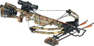 Hunting TenPoint has a complete line of crossbows. Boasting a narrower assembly, field-proven HL Limbs and XR wheels, TenPoints bread-and-butter Titan Xtreme crossbow sets the standard in power, speed and maneuverability. A fully machined riser, acutely angled limb pockets and 13 180-lb. HL Limbs produce a narrower, more powerful bow capable of shooting arrows up to 311 fps. Longer, lighter Fusion Lite stock weighs 5 oz. less than the original for improved handling. Fitted with a wax-infused D-75 string and cables with tunable yokes powered by XR wheels. Patented dry-fire-inhibitor (DFI). 3-1/2-lb. PowerTouch trigger. Double dipped in Mossy Oak Break-Up Infinity camo. Riser, limb pockets, trigger box and XR cams are black. Made in USA. Power stroke: 12.6. Draw weight: 180 lbs. Length: 38. Width: 21-1/2. Weight without accessories: 7 lbs. 4 oz. Camo pattern: Mossy Oak Break-Up Infinity. TenPoint Titan Xtreme ACUdraw 50 Package includes: crossbow, 3X Pro-View 2 scope with 7/8 rings, ACUdraw 50 cocking mechanism, three aluminum 2219 XX75 20 SuperBrite arrows with practice points, four-point quiver, ambidextrous side-mount quiver bracket, 7/8 fixed dovetail mount, GripGuard safety shield. Color: Black. - $699.99