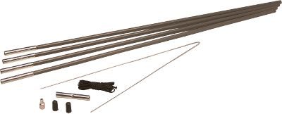 Camp and Hike Repair shock-corded tent poles anywhere with these easy-to-use kits. Each contains four 25-5/8 fiberglass tent poles with zinc-coated steel ferrules. 10 ft. of elastic shock cord, a 29 leader wire, a pair of vinyl pole caps, grommet tip, PVC bag and instructions are included. Sizes: 3/8, 5/16, 7/16. Size: 5. Gender: Male. Age Group: Adult. Type: Tent Accessories. - $9.99
