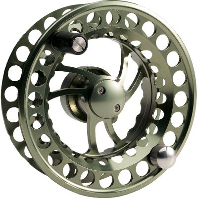 Flyfishing This spool is precision machined from bar-stock aluminum and is ported to eliminate excess weight. Super-large-arbor design delivers faster line pickup and constant drag pressure when compared to standard-arbor reels. Safe for use in saltwater. Color: Moss Green. Color: Moss Green. Type: Extra Spools. - $104.88