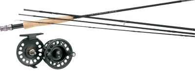 Flyfishing Pair a Signature II rod with a Prestige Plus reel. Combo includes Cabelas Prestiege Premier Fly Line (a $59.99 value) and backing. Perfect as a first fly rod and equipped with upgraded components, the Signature II two-piece series delivers performance that will impress a master fly caster. Up-locking anodized aluminum reel seats, AA-grade cork handles, oversized stripping guides and a translucent green blank finish. The Prestige Plus reels are dependable, affordable and can handle the demands of long days on the water. The disc-drag system sports a cork drag washer and adjusts to a wide range of settings. The cast-aluminum frame has an unmatched strength-to-weight ratio, and the midarbor design yields plenty of backing capacity for battling long-running fish. The molded, paddle-style handle and large drag-adjustment knob round out the features on this exceptional reel at an amazingly low price. Images depict the style of the rod handle and may not fully represent the actual length. Color: Translucent. - $214.99