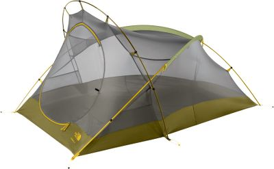 Camp and Hike For those who like to pack light and travel fast, this user-friendly tent blends on-the-go convenience with ultralightweight durability. Experience the protection of its 75-denier polyester taffeta fly with a 1,500mm water-resistant coating, a water-finished canopy made of 40-denier nylon and No-See-Um mesh, and the fully seam-taped floor made of 75-denier nylon with a 5000mm water-resistant finish. Extremely versatile, it offers the option of fly-only pitchingJust bring the tent poles, fly and footprint, and it transforms into a fly-only shelter. It features a lightweight, easy-to-use clip system for easy setup. Adjustable gear lofts clip to the roof of tents, freeing up additional floor space. Convenient overhead pockets for added storage. Includes durable steel stakes. Imported.Sleeping capacity: 2.Weight: 4 lbs. 10 oz.Floor area: 26.2 sq. ft.Vestibule area: 9 sq. ft. - $153.00