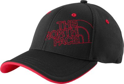 Lightweight, comfortable polyester cap with offset TNF logo and contrast-colored front bill. Flexible fit. Imported.Sizes: S/M, L/XL.Colors: Black/Crimson Red, Blue/White, Gray/White. - $12.99