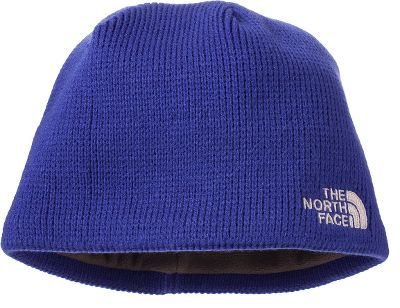 The North Face Bones Beanie is made of 100% acrylic with a microfleece ear-band lining. One size fits most. Imported. Colors: Scallion Green, TNF/Black,Asphalt Grey, Conquer Blue. Size: One Size Fits Most. Color: Conquer Blue. Gender: Male. Age Group: Adult. Material: Acrylic. Type: Beanies. - $20.00