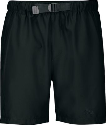 Lightweight, quick-drying water shorts with improved Class V fabric are heavier, more durable and offer a UPF rating of 50. Upgraded liner and elastic waistband enhance comfort. Gusset at crotch for increased mobility. Velcro-entry back pocket. Imported. Inseam: 8. Sizes: M-3XL. Colors: New Taupe Green, Rhubarb Red, TNF Black, Athens Blue, Graphite Grey. Size: 2 X-Large. Color: Rhubarb Red. Gender: Male. Age Group: Adult. Pattern: Solid. Type: Shorts. - $35.00