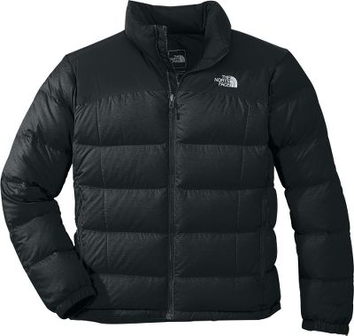 The 700-fill-power goose down insulation in The North Face Nuptse II Jacket delivers plush warmth in harsh, cold-weather conditions. The body is constructed of tear-resistant, 50-denier nylon ripstop for abrasion resistance and has a durable water-repellent finish for wet-weather durability. Sports a full-zip front, two handwarmer pockets, hem cinch cord and elastic cuffs. Zip-in compatible. Imported.Sizes: M-2XL.Colors: TNF Black, Nautical Blue, Biking Red, Asphalt Grey Heather. - $129.88
