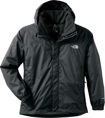 This hardshell Mens Resolve Jacket from The North Face delivers waterproof, breathable and seam-sealed protection. Constructed of 70-denier, 3-oz. two-layer HyVent fabric with a mesh lining for additional ventilation. Standard fit is perfect for any activity. Brushed collar lining keeps your neck warm and comfortable. Stowable and adjustable hood. Front zipper and Velcro closures. Hem cinch cord. Imported. Sizes: S-2XL. Colors: Burnished Orange/Sedona Sage Grey, Outer Space Blue/Acid Yellow, Scottish Moss Green/Asphalt Grey, Sedona Sage Grey/Burnished Orange, TNF Black, TNF Red, High Rise Grey, Limoges Blue, Weimaraner Brown. Size: Medium. Color: Weimaraner Brown. Gender: Male. Age Group: Adult. Type: Jackets. - $90.00