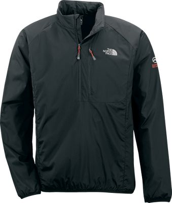 A thermally efficient wind shell without the bulk. Wind-inhibiting 20-denier nylon ripstop shell has a water-resistant polyurethane coating for added protection. Body-warming PrimaLoft One insulation absorbs three times less water than the competitions. The extremely packable jacket stows in its chest pocket. Elastic-bound hem and cuffs. Reverse-coil zippers. 40-gram insulation. Imported. Center back length: 29. Sizes: M-XL. Colors: Island Grass Green, Drummer Blue, TNF Black, Dark Cedar Green, Black. Type: Pullovers. Size: X-Large. Size Xl. Color Tnf Black. - $69.88
