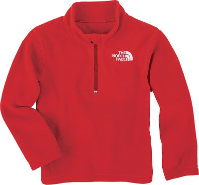 The TKA 100 fleece is so soft next to the skin, you'll have a hard time getting him to take it off. 1/4-zip for ventilation. Pill-resistant surface. Relaxed fit. Imported. Sizes: 2T-4T. Colors: Drummer Blue, TNF Red. - $24.88