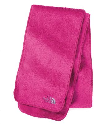 When it's cold outside this 100% polyester high-loft fleece scarf will keep your girl warm with it's soft fuzzy texture. Imported.Colors: Fusion Pink, Gravity Purple, Greenwich Green. - $18.88