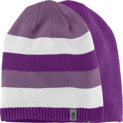 Made of super-soft 100% acrylic, this versatile, reversible beanie blends loose-fitting, youth-specific comfort with double-sided style. Imported.Sizes: S-M.Colors: Deep Water Blue, Fusion Pink, Graphite Grey, Gravity Purple. - $10.88