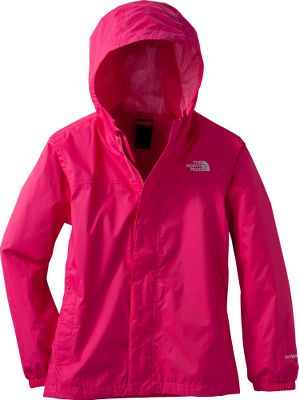 Dont let stormy weather put a damper on your daughters day. The North Faces Girls Zipline Rain Jacket is crafted of 100% waterproof, breathable HyVent nylon that sheds showers with ease. A 100% polyester-mesh liner ensures long-wearing comfort without bulkiness or binding. Two pockets keep hands warm. Fully seam sealed. Fixed hood. Imported. Sizes: XS-XL. Colors:Cha Cha Pink, Bluebird, Collar Blue, Sweet Violet, Fortuna Blue, Sugary Pink/Hamachi Yellow, Violet Tulip Purple, TNF White. Size: Small. Color: Collar Blue. Gender: Female. Age Group: Kids. Material: Nylon. - $55.00