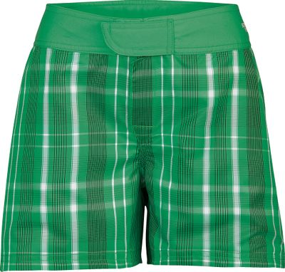 Solid or plaid, you pick the style with these versatile reversible water shorts. Made of soft, quick-drying 100% polyester poplin. Gusseted for freedom of movement. Back security pocket. UPF rating of 50. Imported. Sizes: 4-16.Colors: Baja Blue Plaid, Mojito Green Plaid. - $4.88