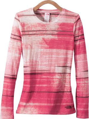 This featherweight tee features a dip-dyed burnout pattern for a one-of-a-kind look that works well on its own or as a layering piece. It's made of 50/50 cotton/polyester jersey for softness and easy-care convenience. Imported. Sizes: S-XL. Color: Pippi Pink. Size: XL. Color: Pippi Pink. Gender: Female. Age Group: Adult. Material: Cotton. Type: Long-Sleeve Shirts. - $23.88