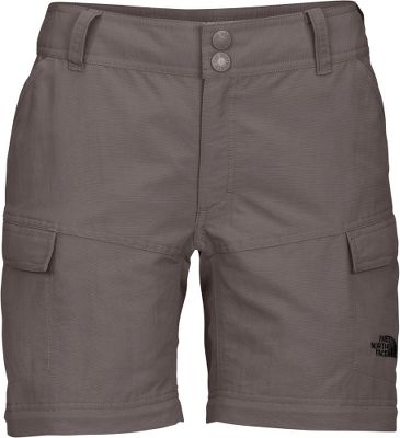Camp and Hike Easily converts into a 6'' pair of shorts, these feature-filled hiking pants are made to go anywhere, on or off the trail. Made of midweight and durable, 12.5-oz. 100% nylon faille, a bluesign-approved fabric. This abrasion-resistant, quick-drying material is further equipped with a durable water-resistant finish for superior stay-dry performance. Elastic on back belt loops for convenient zip-off-leg storage. Roll-up legs. Constructed waist with an internal drawstring. Two front flap cargo pockets and two Velcro security pockets on the back. UPF rating of 30. Imported. Inseam: 32. Even sizes: 4-18. Colors: Sonnet Grey, Weimaraner Brown, Dune Beige, Asphalt Grey. - $39.88