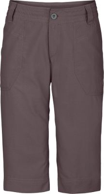 Made of packable, abrasion-resistant nylon ripstop that dries quickly and has a UPF rating of 50. Articulated knees. Two hand pockets. Drawcord waist. Imported. Inseam: 15. Waist Sizes: 4-16Colors: Dune Beige, Weimaraner Brown, Sonnet Grey. - $29.88