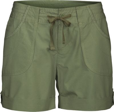 When warm-weather outdoor adventure is on your agenda, these are the shorts youll love to wear. Theyre crafted of lightweight, yet sturdy 100% cotton canvas with triple-needle stitching throughout for added durability. Heritage washing results in an extra-soft hand. A UPF rating of 30 supplies protection from the sun. Two front pockets and two secure back pockets. Internal drawcord waist. Machine washable. Imported.Inseam: 6-1/2. Sizes: 4-16.Colors: Sonnet Grey, Moab Khaki, Grecian Green. - $29.88
