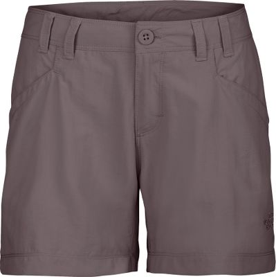 Performance, durability and style combine in these action-ready shorts. Built of lightweight, packable and abrasion-resistant 100% nylon ripstop for long-lasting durability. Quick-drying performance keeps you dry and comfortable. UPF rating of 30 offers extra protection. Generous cargo pockets, hook-and-loop-secure back pockets and a stowaway pocket. Imported. Inseam: 5. Even sizes: 2-16. Colors: Sonnet Grey, TNF Black, Moab Khaki, Weimaraner Brown. Size: 2. Color: Tnf Black. Gender: Female. Age Group: Adult. Material: Nylon. Type: Shorts. - $14.88