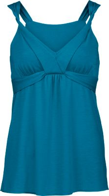 A luxuriously cool sleeveless tank top youll absolutely love on the hottest days of the summer. Drirelease moisture-management fabric is made of a blend of 93% biconstituent fiber and 7% elastane that dries quickly and has an exceptionally soft hand. FreshGuard finish controls odor. A UPF rating of 30 affords some sun protection. Unique twisted neckline. Imported.Center back length for size M: 21.5.Sizes: S-XL.Colors: Baja Blue, Magic Magenta. - $19.88