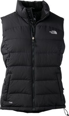 For years, mountainside adventurers have coveted the stylishly puffy and superior cold-weather protection delivered by this classic vest. Made of rugged 2.5-oz. polyester faille taffeta and insulated with 700-fill-power goose down, this high-loft vest seals in the heat and blocks out the cold. Its standard-fitting design offers zip-in compatibility and a collar lining brushed for superior softness. Two handwarmer pockets, inner chest pocket and a hem cinch cord. Jacket compacts and stows in hand pocket. Imported. Avg. wt: 17.64 oz. Center back length: 26 Sizes: S-2XL. Colors: TNF Black, TNF White, High Rise Grey Heather (not shown), Greystone Blue/Dapple Grey. Size: X-Large. Color: Tnf White. Gender: Female. Age Group: Adult. Material: Polyester. Type: Vests. - $134.88