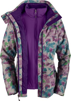 A waterproof, breathable and insulated jacket that blends form-fitting fashion with outstanding three-season performance. A strong polyester/nylon HyVent 2L shell with sealed seams is backed by 120-gram Heatseeker insulation to ensure warmth. The silken-fleece liner glides effortlessly over layers. Brushed collar lining eliminates chafing. The front zipper is backed with a storm flap. Two hand pockets. Zippered sleeve gussets. Hem cinch cord. Fully adjustable and removable hood. Imported.Sizes: S-XL.Colors: Graphite Grey Mini-Plaid, Graphite Grey Watercolor Print, Parachute Purple. - $99.99