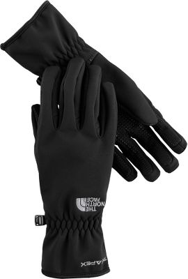 Comprehensively updated, Women's TNF Apex Gloves are a classic. These versatile winter gloves feature advanced TNF Apex ClimateBlock shell technology, wind permeability rated at 0 CFM for total defense against howling winds and a highly durable water-resistant finish. Silicone gripper pattern on the palms gives a secure grip. Brushed tricot linings are comfortable against skin. A reliably accurate fit comes courtesy of The North Face's 5 Dimensional Fit , while Radiametric Articulation provides outstanding freedom of motion. Imported. Sizes: S-L. Colors: TNF Black, Moonlight Ivory, Brunette Brown. - $29.88