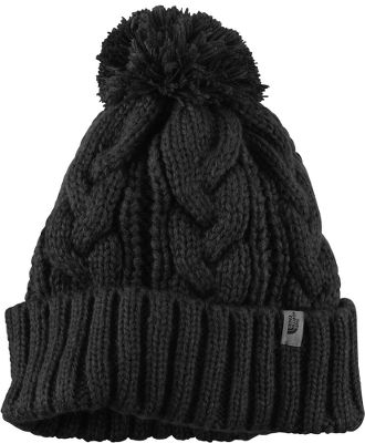 Head-hugging winter protection with a classic pom on top. Soft, warm 100% acrylic. One size fits most. Imported. Colors: TNF Black, TNF White, Moonlight Ivory, Weimaraner Brown. - $14.88