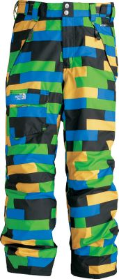 Ski Enjoy total freedom of movement in your winter outdoor fun with these! Fully sealed seams keep moisture out, and HyVent fabric is waterproof and breathable to keep him dry and comfortable. He will stays toasty with 60-gram Heatseeker Aero insulation that provides warmth without extra bulk. The articulated knees and half-elastic waistband move with him when hes skiing, getting on the lift or simply dodging a snowball. Adjustable Velcro tabs on the waist and grow cuffs at the leg openings go from 23 to 25. Ankle gaiters with gripper elastic tuck into boots and stay there while reinforced hems provide durable, lasting wear. A cargo pocket with a Velcro flap on the front right leg secures small items, and zipper handwarmer pockets keep hands warm during a break. A lift-ticket loop at the waist keeps the ticket out of the way and accessible for scanning. 100% polyester shell. 100% nylon lining. Imported. Sizes: XS-XL. Colors: Glo Green, Jake Blue, Leopard Yellow. - $76.88