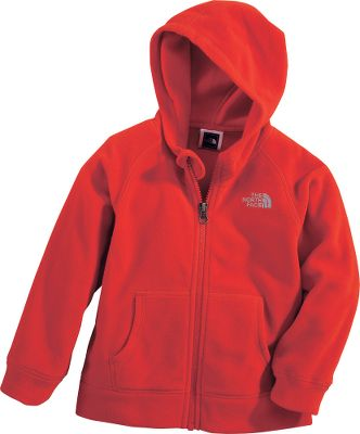 Cool and comfortable cold-weather gear for the little man of the house. Full-zip hoodie is crafted of cozy Polartec 100 fleece that's not only soft, but extremely durable and resistant to pilling. Lightweight and quick-drying, it features kangaroo hand pockets and rib cuffs and waistband. Imported.Sizes: 2T, 3T, 4T.Colors: TNF Red, Rad Green/Deep Water Blue, Drummer Blue. - $23.99