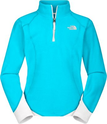 Polartec Classic microfleece wraps her in lightweight warmth and has a durable, pill-resistant surface. 100% polyester. Imported. Center back length for size___: 21. Sizes: XXS-XL.Colors: Razzle Pink, Turquoise Blue. - $29.88