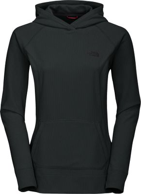 An updated version of a popular TNF favorite, this hoodie features modern lines for a sleeker look with the same great fit. Its made of Polartec Classic 100 microfleece 100% polyester with a UPF rating of 30. Polartec Classic 100 offers 7% more warmth, 20% more thermal efficiency and 11% less weight than the original TNF 100 fleece. This quick-drying fleece is also pill-resistant and highly breathable for lasting comfort. Media pocket with loop. Imported. Sizes: XS-XL.Colors: Premier Purple, TNF Black. - $49.88