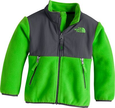 The North Face Toddler Boys Denali Jacket provides comfort and cold-weather protection for the little man of your house with the added durability of abrasion-resistant nylon on the shoulders, chest and forearms. 100% recycled Polartec 300 fleece provides a soft-to-the-touch barrier from the cold and features a stain-resistant durable water-repellent finish for long-wearing performance. Classic zip front with elastic cuffs and hem is easy to put on and take off. Zip-in compatible with other The North Face garments. Imported.Sizes: 2T, 3T, 4T.Colors:Glo Green, Flashlight Green, Nautical Blue. Type: Jackets. Size: 2T. Color: Flashlight Green. Size 2t. Color Flashlight Green. - $69.88