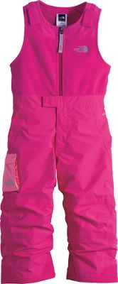Lightweight and waterproof, The North Face Toddler Girls Insulated Snowdrift Bibs are the solution to extended time outdoors. HyVent 2L treatment sheds rain and snow, and 60-gram Heatseeker Aero insulation provides warmth without bulk. The adjustable, Velcro shoulder tabs and EZ Grow cuffs make for a perfect fit for your child. Center front zipper extends through the fly for easy on and off. Half-elastic waistband with front snap closure ensures a comfortable fit. 100% polyester fleece top with 100% nylon bottoms. Imported.Sizes: 2T-4T.Colors: Premiere Purple, Razzle Pink, Passion Pink, Pixie Purple. Type: Bibs. Size: 3T. Color: Pixie Purple. Size 3t. Color Pixie Purple. - $84.88