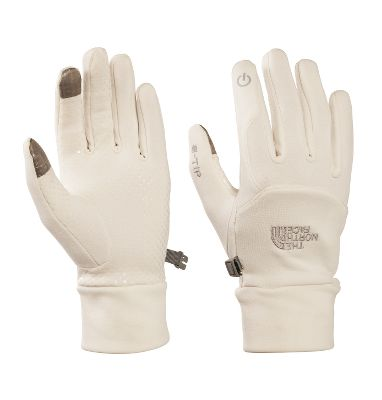 TNFs woman-specific 5 Dimensional Fit allows for comfortable, effective mobile-device and MP3-player use. X-Static finger caps and silicone-grip palms enhance the comfortable, chill-blocking stretch-knit polyester fabric. Imported.Sizes: S-L.Color: TNF Black, Vaporous Grey. - $24.88