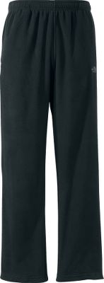 Great for cold weather workouts or winter lounging, these pants are made of warm, quick-drying TKA 100 fleece for softness, durability and easy-care convenience. Thermally efficient, 100% polyester TKA 100 fleece resists pilling, fading and maintains its shape wash after wash. Self-adjusting elastic waist with an internal drawcord for a custom fit. Split-vent hems fit easily over shoes and boots. On-seam handwarmer pockets lined with brushed tricot. Zippered back pocket. Imported. Inseams: Short (30), Regular (32). Sizes: S-3XL. Colors: North Face Black, Graphite Grey. Size: 30. Color: North Face Black. Gender: Male. Age Group: Adult. Material: Fleece. - $55.00