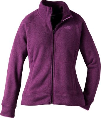 This warm, heavyweight fleece sweater traps and retains body heat, and has a high collar for additional protection and comfort. It also dries quickly to minimize the loss of body heat. Binding on the cuffs keep the sleeves snug to your wrists to keep out the chill. Tricot-lined hand pockets and reverse-coil full zipper. Imported.Sizes: S-2XL. Colors: Sisley Blue, Premiere Purple, Weimaraner Brown (not shown), TNF Black (not shown). - $49.88