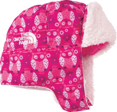 Soft, fluffy poodle fleece is soft against your babys head and cheeks, and playfully complements the vibrant patterns of this hats shell. Longer earflaps hang down for a warmer silhouette with a Velcro chin strap for better and more secure wear. 100% polyester. One size fits most. Imported.Colors: Cosmic Blue, Peri Purple, Razzle Pink, Delicate Purple. Type: Headwear. Size: One Size Fits Most. Color: Peri Purple. Size One Size Fits Most. Color Peri Purple. - $24.88