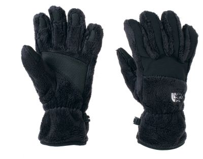 Delivering complete winter performance with an improved fit and superior warmth. Slide your hands into a woman-specific 5 Dimensional Fit with Radiametric Articulation and feel the enhanced dexterity. Polyester high-loft fleece linings trap heat, and complete nylon Taslan overlays, with extra protection over knuckles and fingers, block out the elements. Polyurethane gripper palms and elastic wrists. Imported. Sizes: S-L. Colors: Vibrant Blue, TNF Black, Weimaraner Brown. - $17.88