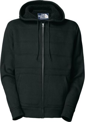 A uniquely quilted body lined with Sherpa fleece provides the ultimate in warmth and comfort, making this your new favorite hoodie. Drawcord hood. Roomy pockets, self-fabric cuffs and hem. Body is 72/28 cotton/polyester. Lining is 100% polyester. Imported. Sizes: M-2XL.Colors: TNF Black, Graphite Grey. - $49.88