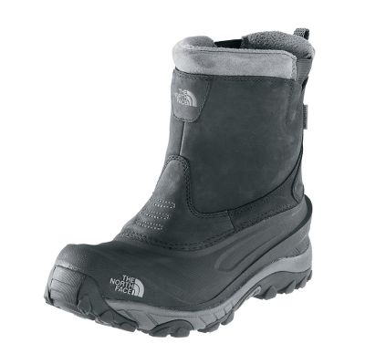 These boots offer a convenient pull-on design for easy on and off, and 200-gram PrimaLoft Eco insulation provides incredible warmth. Nubuck uppers are waterproof, keeping your feet dry in the wettest conditions. Dri-Lex fleece linings deliver ideal close-to-skin comfort. Northotic dual-density footbeds offer a softer heel, and forefoot-cushioning pads increase shock-absorbing performance. Compression-molded EVA midsoles for increased stability. Winter Grip outsoles with IcePick technology are temperature sensitive for unrivaled traction in a variety of conditions. Imported.Height: 9.Average weight: 2.4 lbs./pair.Mens sizes: 8-14. Half sizes to 12.Color: Black. - $59.99