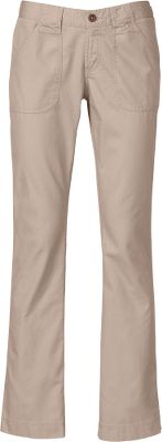 These lightweight, cotton boot-cut pants have a relaxed, washed look for everyday comfort. Front and back patch pockets are triple-needle stitched for durability. Zip-fly closure. 100% cotton twill. Imported. Inseams: 32. Womens even sizes: 4-16. Colors: Dune Beige, Graphite Grey. Size: 14. Color: Graphite Grey. Gender: Female. Age Group: Adult. Material: Cotton. - $34.88
