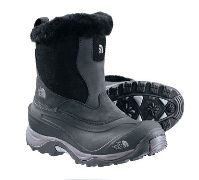 Anatomically engineered for women, these boots boast waterproof leather uppers, 100% waterproof construction and 400-gram PrimaLoft Eco insulation for dry warmth in temperatures as low as -40F. Full Dri-Lex fleece linings. Northotic+ dual-density footbeds with cushioning pads. Compression-molded EVA midsoles. TNF Winter Grip rubber outsoles and IcePick outsole lugs for traction. Nubuck uppers, rustproof metal hardware and faux-fur collars.Imported.Height: 7.Average weight:3.1 lbs./pair.Womens sizes:6-10. Half sizes to 10.Colors:Black, Demitasse. - $59.99