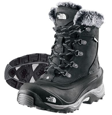 Anatomically engineered for women, these boots boast waterproof leather uppers, 100% waterproof construction and 400-gram PrimaLoft Eco insulation for dry warmth in temperatures as low as -40F. Full Dri-Lex fleece linings. Northotic+ dual-density footbeds with cushioning pads. Compression-molded EVA midsoles. TNF Winter Grip rubber outsoles and IcePick outsole lugs for traction. Nubuck and fine-nap suede uppers. Australian shearling sheepskin collars. Imported.Height: 7.Average weight:3.1 lbs./ pair.Womens sizes:6-10. Half sizes to 10.Colors:Black, Demitasse. Type: Winter Boots. Size: 7 1/2. Shoe Width: BLACK. Color: Medium. Size 7 1/2. Color Black. Width Medium. - $130.00