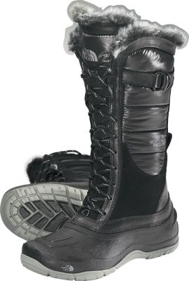Waterproof construction with 200-gram PrimaLoft Eco insulation. Faux-fur detailing is stylish and fun. Winter Grip rubber outsoles with IcePick temperature-sensitive lugs for superior traction. Imported.Women's sizes: 6-10 medium width. Half sizes to 10.Color: Black. Average weight: 2.25 Ibs./pair Height: 13.5. - $109.88