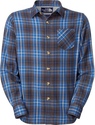 An enzyme-washed 100% cotton yarn-dyed flannel shirt that feels like youve worn it every day, even the first time you slip it on. Herringbone tape inside placket. Single chest pocket. Jersey lining at yoke. Fell seams at sides and underarms. Logo patch at inside placket. Imported.Sizes: M-2XL.Colors: Graphite Grey, Conifer Green. - $49.88