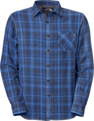 A classic, comfortable 100% cotton flannel shirt finished with a vintage spray for a slightly worn look right off the rack to fit your casual style. Double needle stitching. Herringbone tape inside placket. Single chest pocket. Jersey lining at yoke. Fell seams at sides and underarms. Logo patch at inside placket. Imported.Sizes: M-2XL.Colors: Jake Blue, Fiery Red. - $80.00