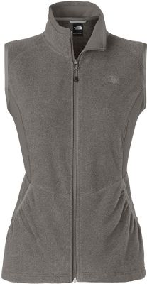 With the warmth-trapping power of polyester TKA 100-weight fleece and a sleek, sporty cut, this vest looks great alone, but layers nicely under a shell for added protection from the cold. Deep handwarmer pockets. Imported.Center back length of size M: 25-1/4.Sizes: S-2XL.Color: Graphite Grey Heather. - $39.99