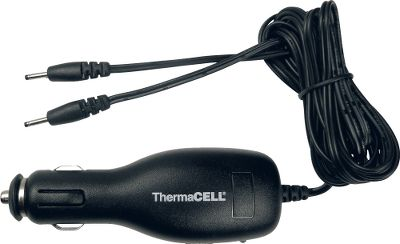 A quick and simple charger for use with ThermaCELL Rechargeable Heated Insoles (sold separately). Charges two insoles in three hours or less. Green LED indicator goes out when charge is complete. Charge lasts up to five hours. Input: 12/24-volt DC. Color: Black. Type: Insoles. - $19.99